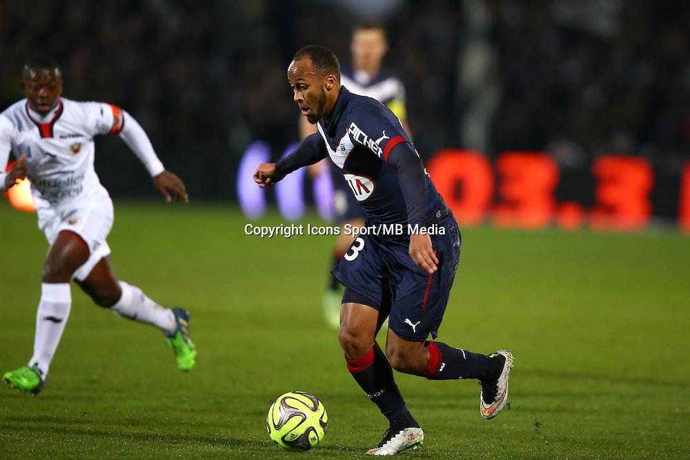 Thomas Toure - 16.01.2015 - Bordeaux / Nice - 21e journee Ligue 1<br />Photo : Manuel Blondeau / Icon Sport