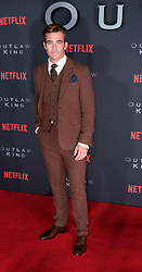 Outlaw King Premiere, Edinburgh, Friday 19th October 2018<br /> <br /> Outlaw King is a Netflix film and follows 14th century Scottish king Robert the Bruce prior to his coronation and through to his rebellion against the English, who at the time were occupying Scotland.<br /> <br /> Stars, crew and guests appear on the red carpet for the Scottish premiere.<br /> <br /> Pictured: Chris Pine<br /> <br /> Alex Todd | Edinburgh Elite media