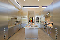 Stylish modern kitchen in manor house