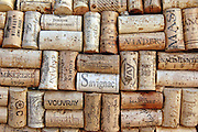 an assortment of wine bottle corks