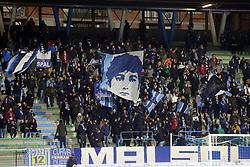 """Foto LaPresse/Filippo Rubin<br /> 28/11/2017 Ferrara (Italia)<br /> Sport Calcio<br /> Spal - Cittadella - Coppa Italia 2017/2018 - Stadio """"Paolo Mazza""""<br /> Nella foto: I TIFOSI DELLA SPAL<br /> <br /> Photo LaPresse/Filippo Rubin<br /> November 28, 2017 Ferrara (Italy)<br /> Sport Soccer<br /> Spal - Cittadella - Italy's Cup 2017/2018 - """"Paolo Mazza"""" Stadium <br /> In the pic: SPAL SUPPORTERS"""