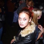 Gouden CD Jody Bernal, vriendin Dennis van Tellingen