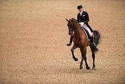 Oatley Lyndal (AUS) - Sandro Boy 9<br /> Grand Prix - Reem Acra FEI World Cup Dressage Qualifier - The London International Horse Show Olympia - London 2012<br /> © Hippo Foto - Jon Stroud