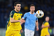 Mohamed Elyounoussi of Celtic in action during the UEFA Europa League, Group E football match between SS Lazio and Celtic FC on November 7, 2019 at Stadio Olimpico in Rome, Italy - Photo Federico Proietti / ProSportsImages / DPPI