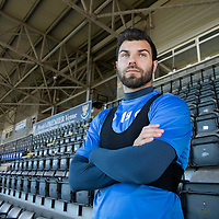 St Johnstone's Richie Foster pictured at McDiarmid Park ahead of tomorrow's game against Rangers….25.10.16<br />