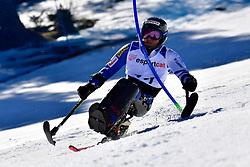 MORII Taiki, LW11, JPN, Slalom at the WPAS_2019 Alpine Skiing World Cup, La Molina, Spain
