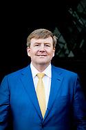 MAASTRICHT - King Willem-Alexander attends a meeting in Maastricht on Thursday March 29, 2018 to mark the completion of A2 Maastricht and the realization of the Groene Loper. He is doing the opening of the Green Carpet. Minister Van Nieuwenhuizen of Infrastructure and Water Management is present. ROBIN UTRECHT<br /> <br /> <br /> MAASTRICHT - Koning Willem-Alexander woont donderdagochtend 29 maart 2018 in Maastricht een bijeenkomst bij ter markering van het gereedkomen van A2 Maastricht en de realisatie van de Groene Loper. Hij verricht de opening van de Groene Loper. Minister Van Nieuwenhuizen van Infrastructuur en Waterstaat is hierbij aanwezig.ROBIN UTRECHT