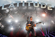 Henham Park, Suffolk, 20 July 2019. Stereophonics play the Obelisk stage - The 2019 Latitude Festival.