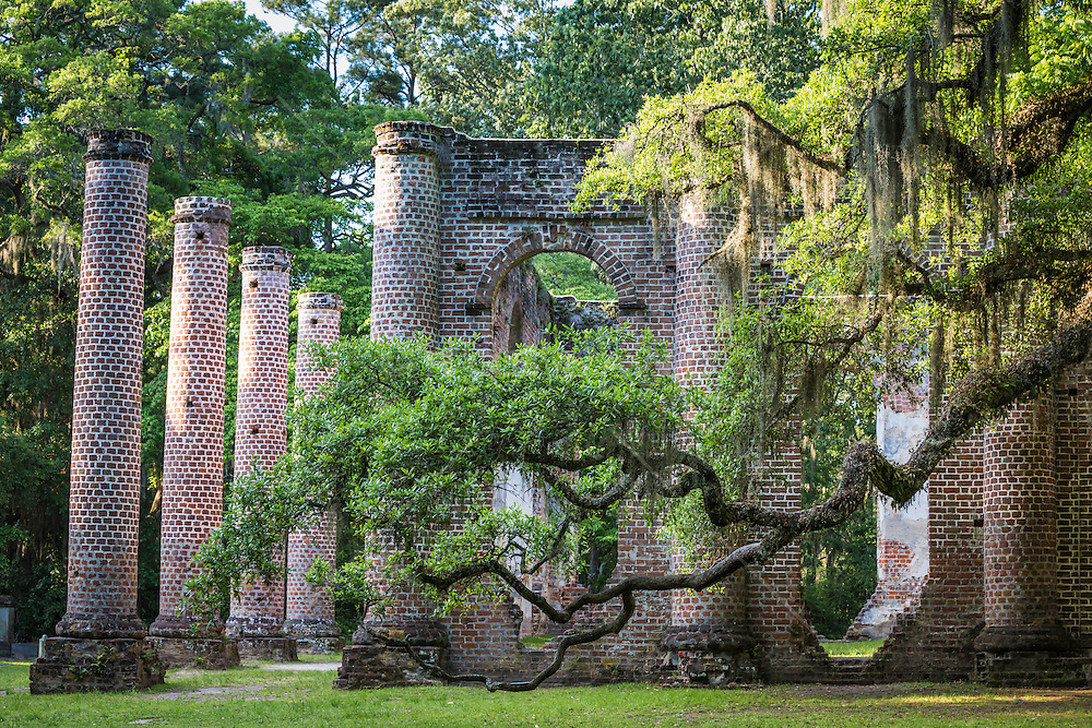 The Old Sheldon Church Ruins is a historic site located in northern Beaufort County, South Carolina, approximately 17 miles (30 km) north of Beaufort in the Sheldon area.[2][3] Known also as the Sheldon Church or Old Sheldon Church, the pre-existing building was originally known as Prince William's Parish Church. The church was built in the Greek Revival style between 1745 and 1753. Prince William's was burned by the British in 1779 during the Revolutionary War. In 1826 it was rebuilt.