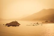 Overlook shoreline of Mt.Putuo,China