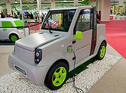 Electric Comarth Toy Rider car at Paris Motor Show 2010
