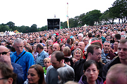 Party At The Palace, Saturday 11th August 2018<br /> <br /> Pictured: Fans wait on James taking to the stage<br /> <br /> Aimee Todd | Edinburgh Elite media