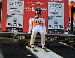 21.11.2014, Vogtland Arena, Klingenthal, GER, FIS Weltcup Ski Sprung, Klingenthal, Herren, HS 140, Qualifikation, im Bild Reruhi Shimizu (JPN) // during the mens HS 140 qualification of FIS Ski jumping World Cup at the Vogtland Arena in Klingenthal, Germany on 2014/11/21. EXPA Pictures © 2014, PhotoCredit: EXPA/ Eibner-Pressefoto/ Harzer<br /> <br /> *****ATTENTION - OUT of GER*****