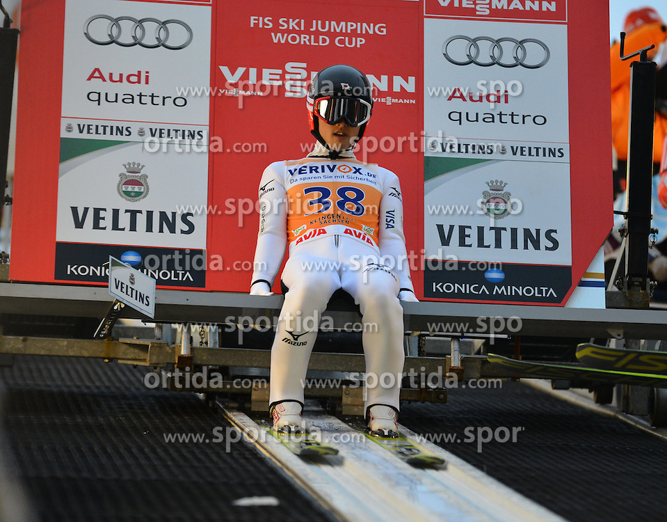 21.11.2014, Vogtland Arena, Klingenthal, GER, FIS Weltcup Ski Sprung, Klingenthal, Herren, HS 140, Qualifikation, im Bild Reruhi Shimizu (JPN) // during the mens HS 140 qualification of FIS Ski jumping World Cup at the Vogtland Arena in Klingenthal, Germany on 2014/11/21. EXPA Pictures &copy; 2014, PhotoCredit: EXPA/ Eibner-Pressefoto/ Harzer<br /> <br /> *****ATTENTION - OUT of GER*****