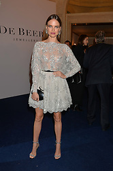 ALICIA ROUNTREE at the De Beers Moments in Light - a celebration of telented women in association with Women For Women International featuring photographs by Mary McCartney held at Claridge's, Brook Street, London on 18th September 2015.