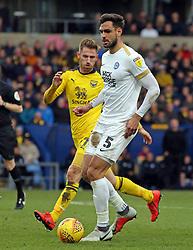 Ryan Tafazolli of Peterborough United in action with James Henry of Oxford United - Mandatory by-line: Joe Dent/JMP - 16/02/2019 - FOOTBALL - Kassam Stadium - Oxford, England - Oxford United v Peterborough United - Sky Bet League One