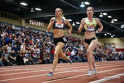 2020 USATF Indoor Championship<br /> Albuquerque, NM 2020-02-14<br /> photo credit: © 2020 Kevin Morris<br /> womens 3000m, Brooks,