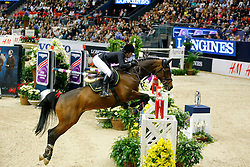 Alexander Edwina, (AUS), Caretina de Joter<br /> Longines FEI World Cup Jumping Final II<br /> © Dirk Caremans
