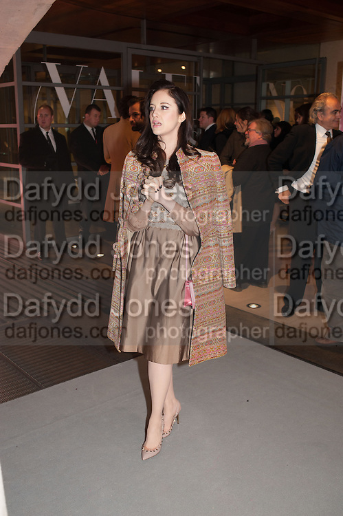 ANDREA RISBOROUGH, Valentino: Master of Couture - private view. Somerset House, London. 28 November 2012