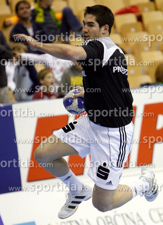 French star, handball player of THW Kiel, Nikola Karabatic at   2007 Men`s Champions Trophy, on October 20, 2007 in Celje, Slovenia.   (Photo by Vid Ponikvar / Sportal Images).