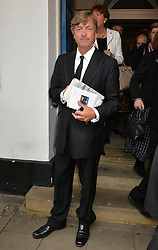 Journalist and television presenter Alan Whicker's memorial service at Grosvenor Chapel, Mayfair, London, UK.<br /> <br /> Pictured is Richard Madeley attending the service.<br /> <br /> Wednesday, 28th May 2014. Picture by Ben Stevens / i-Images