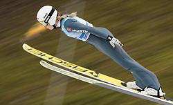 February 8, 2019 - Ljubno, Savinjska, Slovenia - Svenja Wuerth of Germany on first competition day of the FIS Ski Jumping World Cup Ladies Ljubno on February 8, 2019 in Ljubno, Slovenia. (Credit Image: © Rok Rakun/Pacific Press via ZUMA Wire)