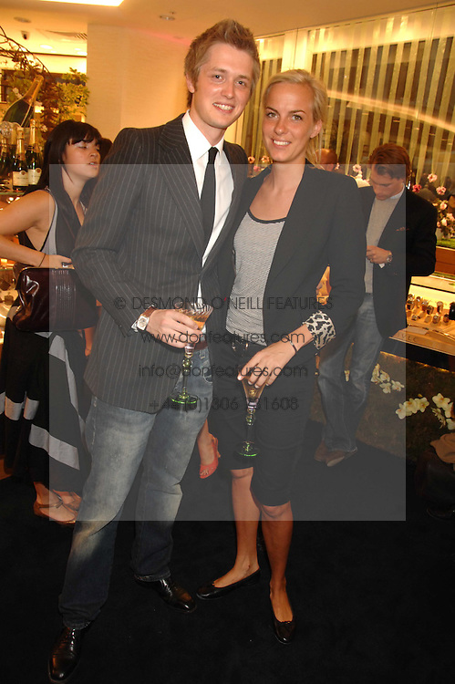 LADY LOUISA COMPTON and PRINCE LEO ZU SALM-HORSTMAR at the launch party for the Mappin &amp; Webb Regents Street branch at 132 Regent Street, London on 19th June 2007.<br /><br />NON EXCLUSIVE - WORLD RIGHTS