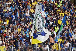 """Foto Filippo Rubin<br /> 26/03/2017 Ferrara (Italia)<br /> Sport Calcio<br /> Spal vs Frosinone - Campionato di calcio Serie B ConTe.it 2016/2017 - Stadio """"Paolo Mazza""""<br /> Nella foto: I TIFOSI DEL FROSINONE<br /> <br /> Photo Filippo Rubin<br /> March 26, 2017 Ferrara (Italy)<br /> Sport Soccer<br /> Spal vs Frosinone - Italian Football Championship League B ConTe.it 2016/2017 - """"Paolo Mazza"""" Stadium <br /> In the pic: FROSINONES FANS"""