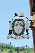 Italy, Collio. Capriva del Friuli. Locanda ai Due Fratelli.