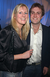 LADY MARIA BALFOUR and CHARLIE WIGAN at a VIP party to celebrate the launch of the new Fiat Punto held at the Truman Brewery 91 Brick Lane, Loncon on 19th January 2006.<br /><br />NON EXCLUSIVE - WORLD RIGHTS