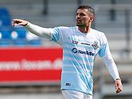 FODBOLD: Daniel Jørgensen (FC Helsingør) under kampen i Reserveligaen mellem Lyngby Boldklub og FC Helsingør den 11. september 2017 på Lyngby Stadion. Foto: Claus Birch