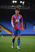 Chung-Yong Lee in action during the Final Third Development League match between U21 Crystal Palace and U21 Bristol City at Selhurst Park, London, England on 3 November 2015. Photo by Michael Hulf.