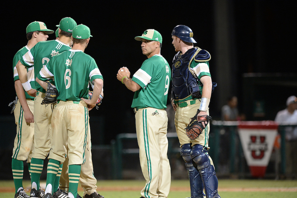 2014 Notre Dame Baseball @ Miami