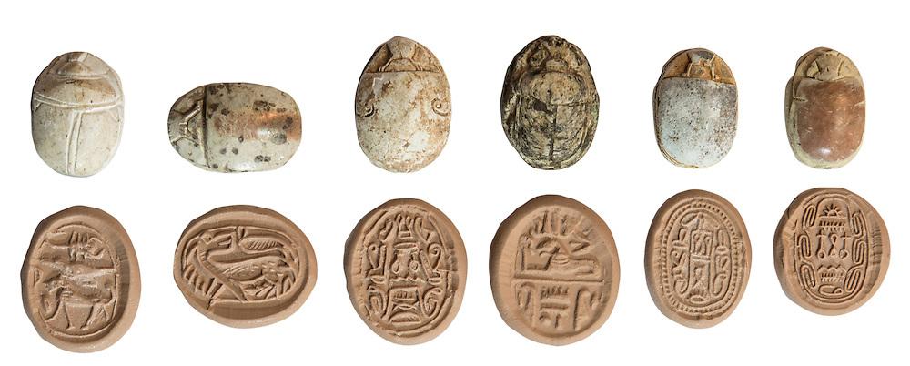 Canaanite Scarab Seals 2nd millennium BC