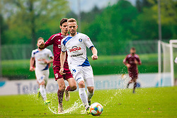 Tin KARAMATIC vs Ivan CRNOV during Football match between NK Triglav Kranj and NK Celje, on May 12, 2019 in Sport center Kranj, Kranj, Slovenia. Photo by Peter Podobnik / Sportida