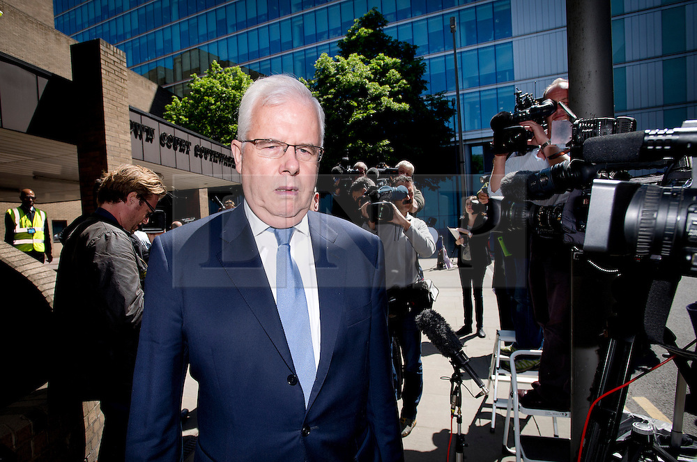 © London News Pictures. 05/06/2013. London, UK. Former Sun chief reporter JOHN KAY leaving Southwark Crown Court in London where he faced charges relating to phone hacking scandal at News International and payments to officials. Photo credit: Ben Cawthra/LNP