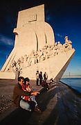 Bele?m; monument of Portuguese Discoveries (Padra?o dos Descombrimentos.)