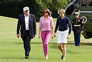 DC: Donald Trump & Family at Weekend - 28 Aug 2017