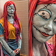 Shanika is dressed for Halloween as Sally in her office in Equinox Greenwich Village.<br />