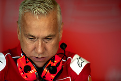 September 22, 2018 - Alcaniz, Teruel, Spain - Davide Tardozzi, Team manager Ducati Team during qualifying for the Gran Premio Movistar de Aragon of world championship of MotoGP at Motorland Aragon Circuit on September 22, 2018 in Alcaniz, Spain. (Credit Image: © Jose Breton/NurPhoto/ZUMA Press)