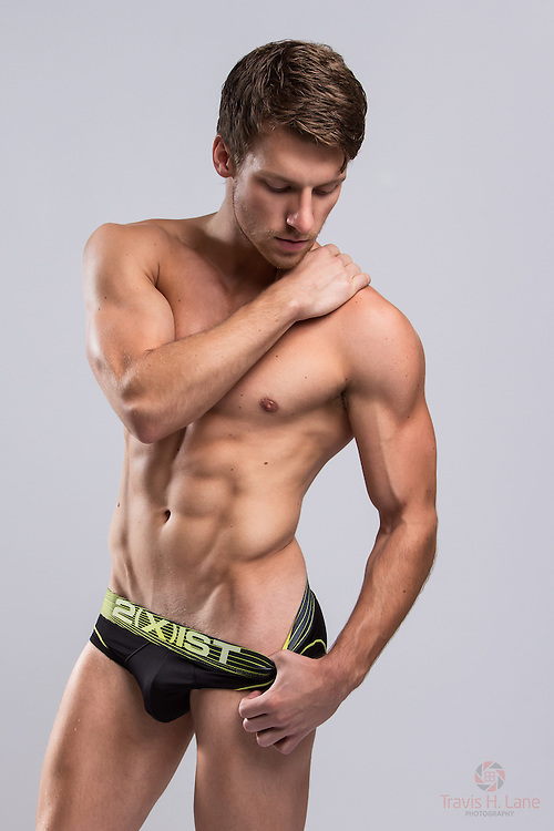 Clayton Bailey wearing 2(x)ist underwear