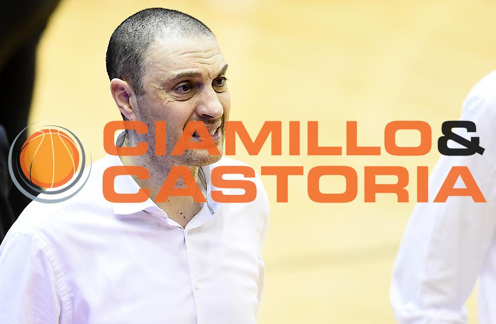 Vincenzo Esposito<br /> Grissin Bon Pallacanestro Reggio Emilia - The Flexx Pistoia Basket<br /> Lega Basket Serie A 2016/2017<br /> Reggio Emilia, 30/04/2017<br /> Foto A.Giberti / Ciamillo - Castoria