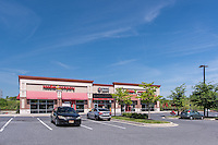 Exterior Image of Owings Mills Square in  Maryland by Jeffrey Sauers of Commercial Photographics, Architectural Photo Artistry in Washington DC, Virginia to Florida and PA to New England