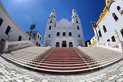 A Igreja de Nossa Senhora das Dores, da cidade de Porto Alegre, no Rio Grande do Sul, começou a ser construída em 1833 e levou aproximadamente 97 anos para ser concluída. Sua fachada ostenta linhas arquitetônicas do barroco português associado ao estilo alemão. FOTO: Marcos Nagelstein/ Agência Preview