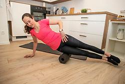 ROECKENER Lisa<br /> Fitnesstraining<br /> Kettenkamp - Portrait Lisa Roeckener 2019<br /> Homestory und Portrait Lisa Roeckener<br /> 20. Februar 2019<br /> © www.sportfotos-lafrentz.de/Stefan Lafrentz