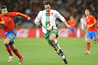 FOOTBALL - FIFA WORLD CUP 2010 - 1/8 FINAL - SPAIN v PORTUGAL - 29/06/2010 - PHOTO GUY JEFFROY / DPPI - HUGO ALMEIDA (POR)