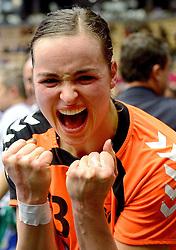 18-12-2015 DEN: World Championships Handball 2015 Poland  - Netherlands, Herning<br /> Halve finale - Nederland staat in de finale door Polen met 30-25 te verslaan / Yvette Broch #13