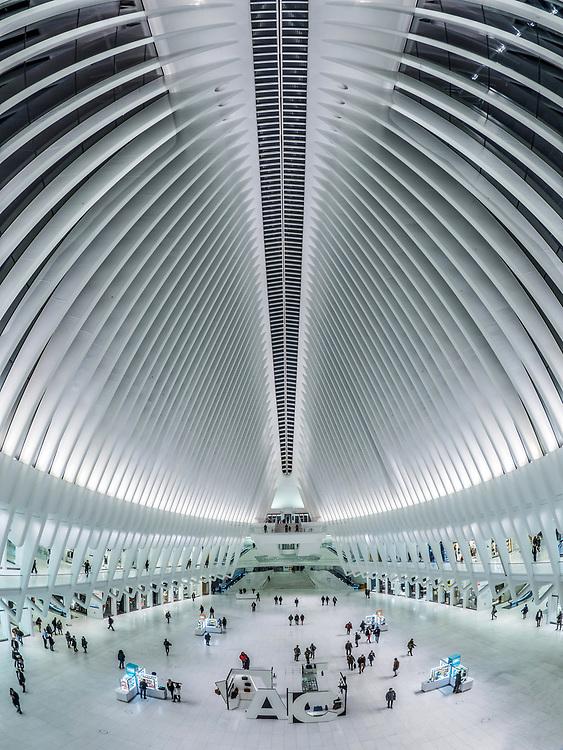Oculus subway station