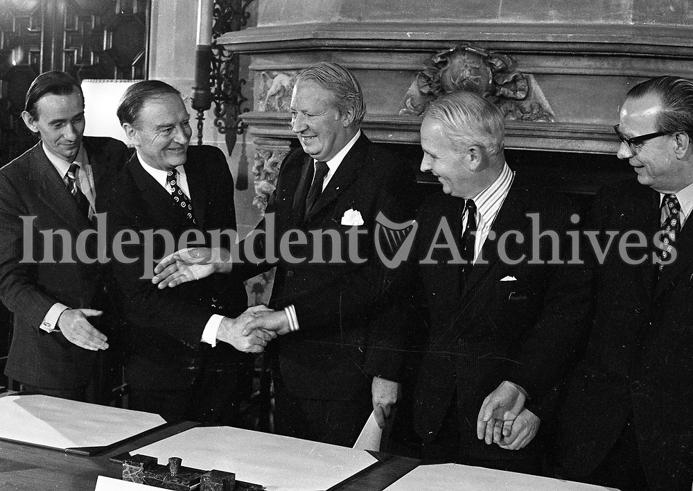 Tripartite Agreement Irish Independent Archives