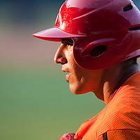 15 February 2009: Catcher Ariel Pestano of the Orientales is seen during a training game of Cuba Baseball Team for the World Baseball Classic 2009. The national team is pitted against itself, divided in two teams called the Occidentales and the Orientales. The Orientales win 12-8, at the Latinoamericano stadium, in la Habana, Cuba.